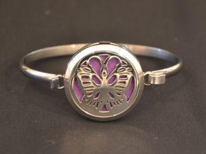 Aromatherapy Bracelets Large - Butterfly
