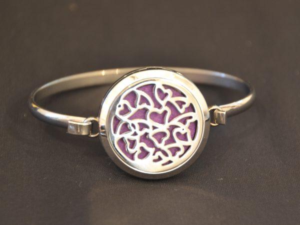 Aromatherapy Bracelets Large - Hearts