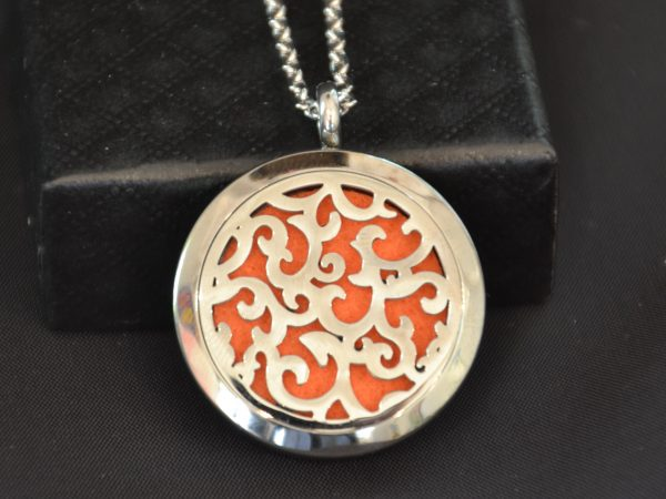 Aromatherapy Necklace Large - Floral