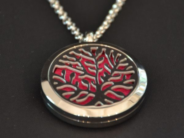 Aromatherapy Necklace Large - Tree of Life (2)