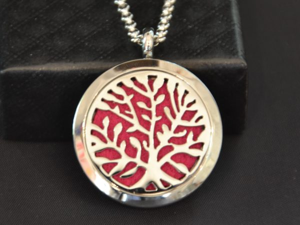 Aromatherapy Necklace Large - Tree of Life (3)