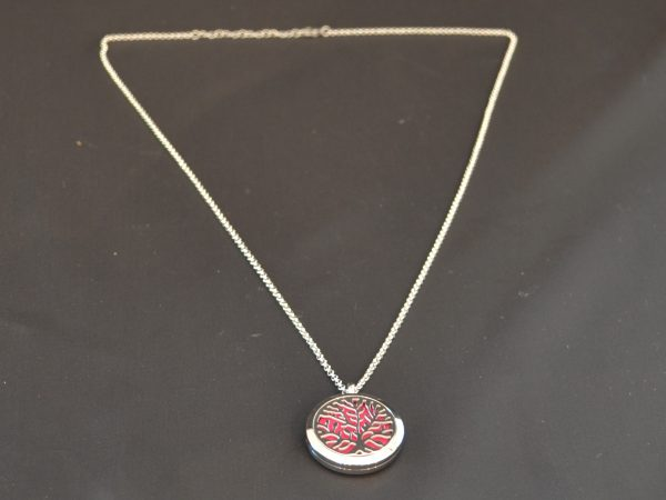 Aromatherapy Necklace Large - Tree of Life