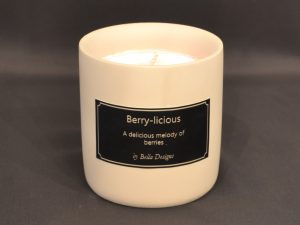 Aromatherapy Soy Candle - Berry-licious