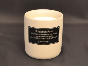 Aromatherapy Soy Aromatherapy Soy Candle - Bulgarian Rose Open
