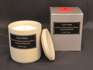 Aromatherapy Soy Candle - Cool Water All