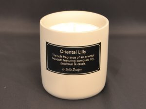 Aromatherapy Soy Candle - Oriental Lilly