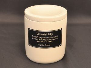Aromatherapy Soy Candle - Oriental Lilly with lid