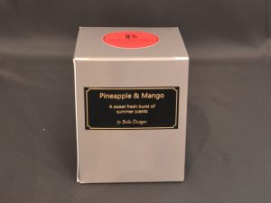 Aromatherapy Soy Candle - Pineapple & Mango Packaging