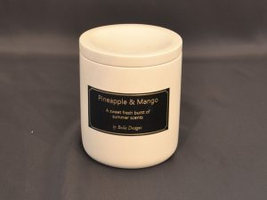 Aromatherapy Soy Candle - Pineapple & Mango with Lid