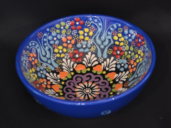 Turkish Bowls Large - Dark Blue