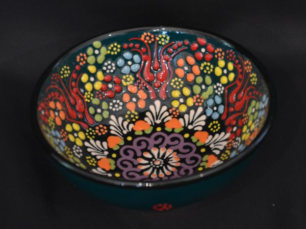 Turkish Bowls Large - Dark Green