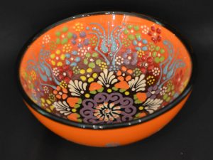 Turkish Bowls Large - Orange