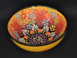 Turkish Bowls Large - Yellow