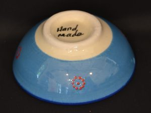 Turkish Bowls Small - Light Blue Back
