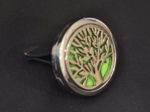 Aromatherapy Car Diffuser - Tree of Life Side