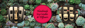 soy candle-green